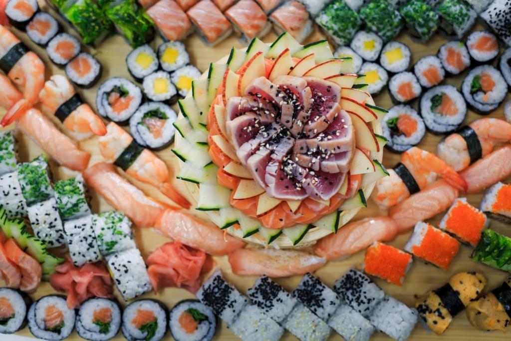 sushi mixed